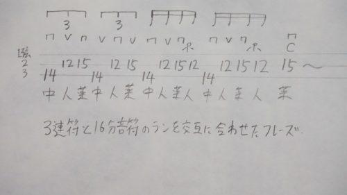 ラン奏法1