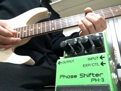 BOSSの飛び道具フェイザー PH-3 Phase shifterをガッツリ使い込んだので紹介します