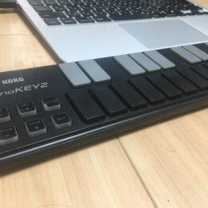 超便利な小型MIDIキーボード KORGnanoKEY2のレビュー