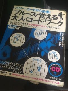 ギタリスト必読の一冊-ブルースで覚える大人のコードワーク-